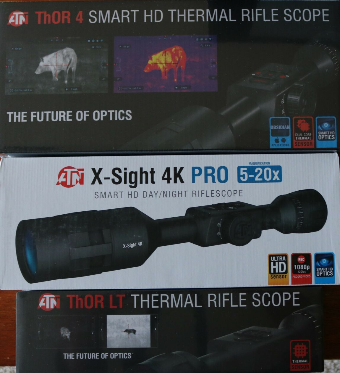 Getting Ready to Hunt the Night: New ATN Thermal and IR Scopes